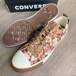 Converse Shoes - NWT Converse Chuck Taylor Animal Print